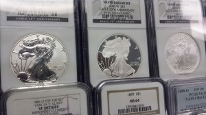 Specialty and rare numismatic coins sold at A Village Stamp and Coin