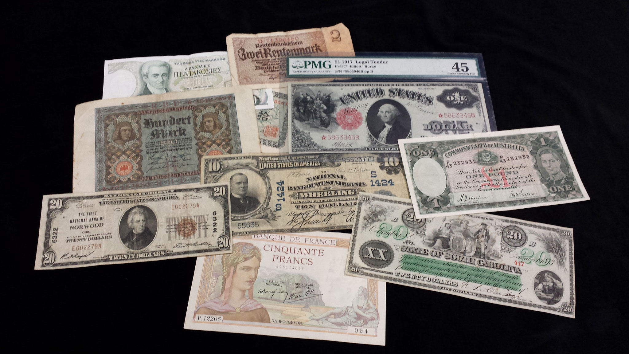 Buy Here Pay Here Tampa >> Old paper money | Rare, certified and graded currency, bills and notes, US and foreign