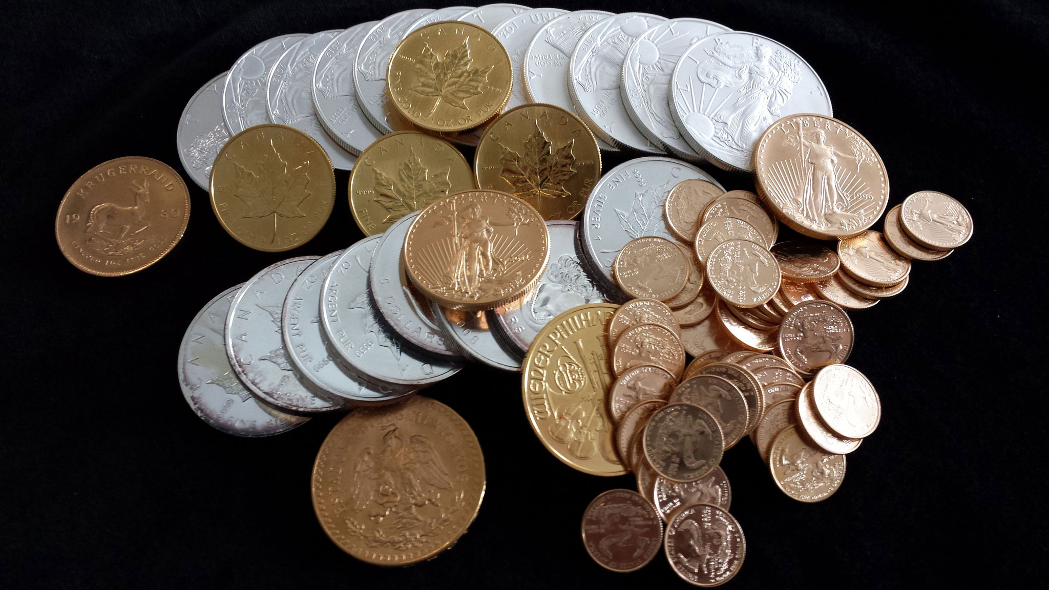We Sell Pure Silver Gold And Silver Coins Bullion And