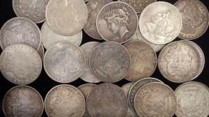 Pre-1964 silver coins including the American Silver Dollar