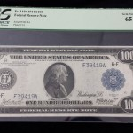 Federal Reserve Note $100 1914 Gem New 65