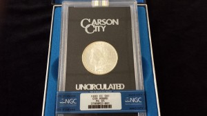 1883 Carson City Silver Dollar Uncirculated MS 65