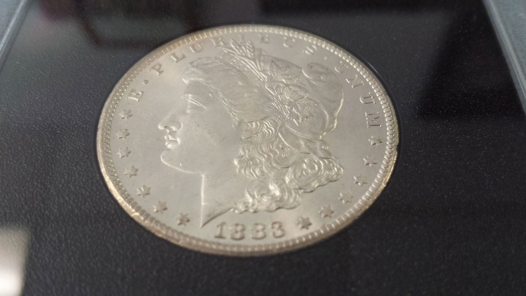 1883 Carson City Silver Dollar Uncirculated MS 65