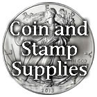 coin and stamp supplies