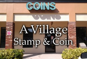 A Village Stamp & Coin store in Tampa