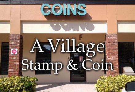 Buy and Sell Gold and Silver Coins - A Village Stamp & Coin